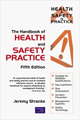 Handbook Of Health And Safety Practice cover