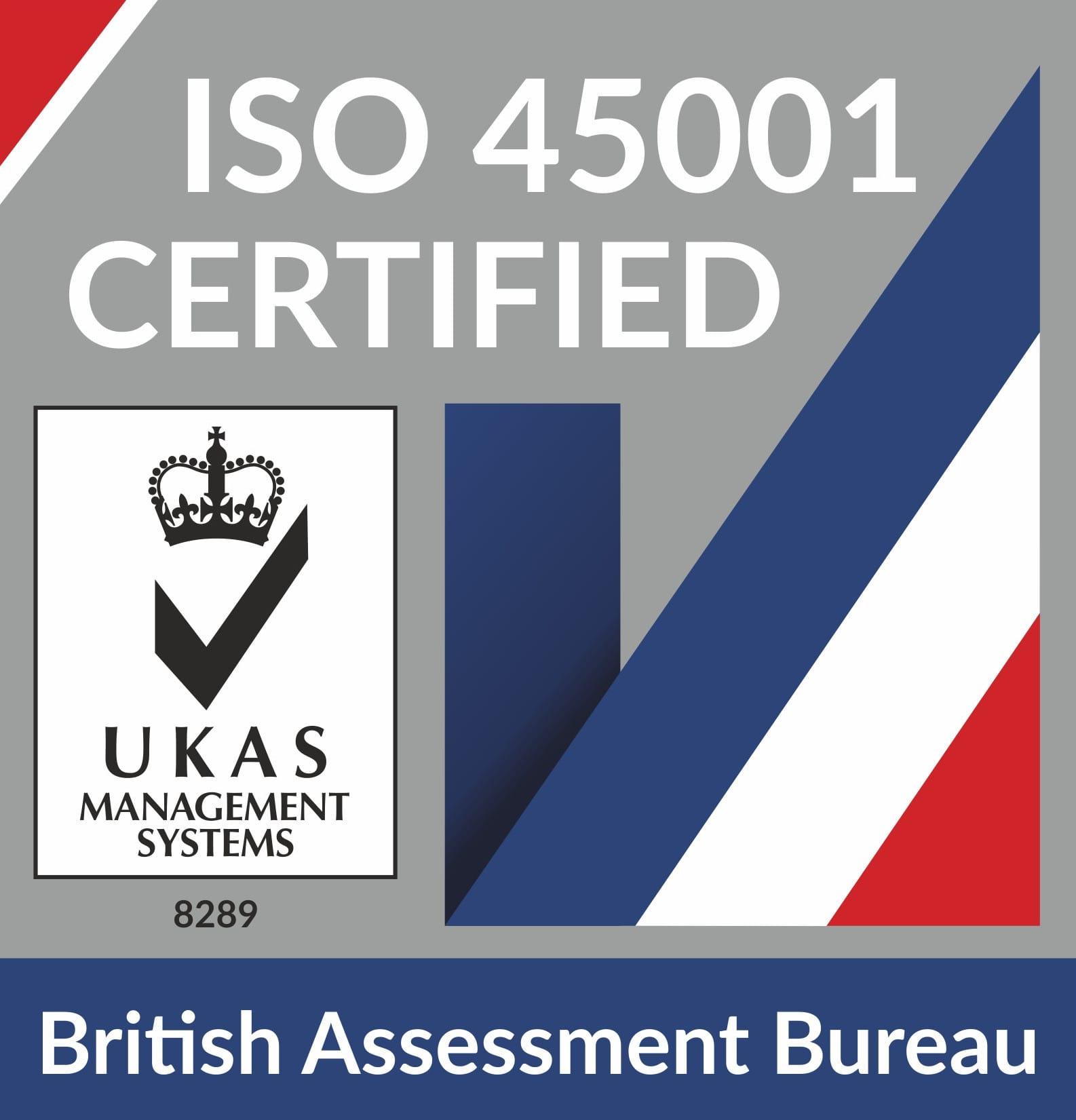 British Assessment Bureau OHSAS logo